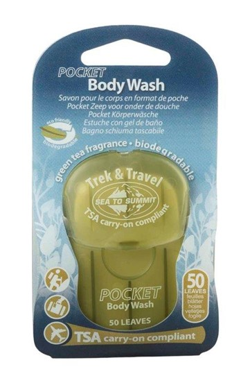 סבון גוף דפים Trek & Travel POCKET Body Wash